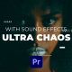 Ultra Chaos Glitch Text Maker | Premiere Pro - VideoHive Item for Sale