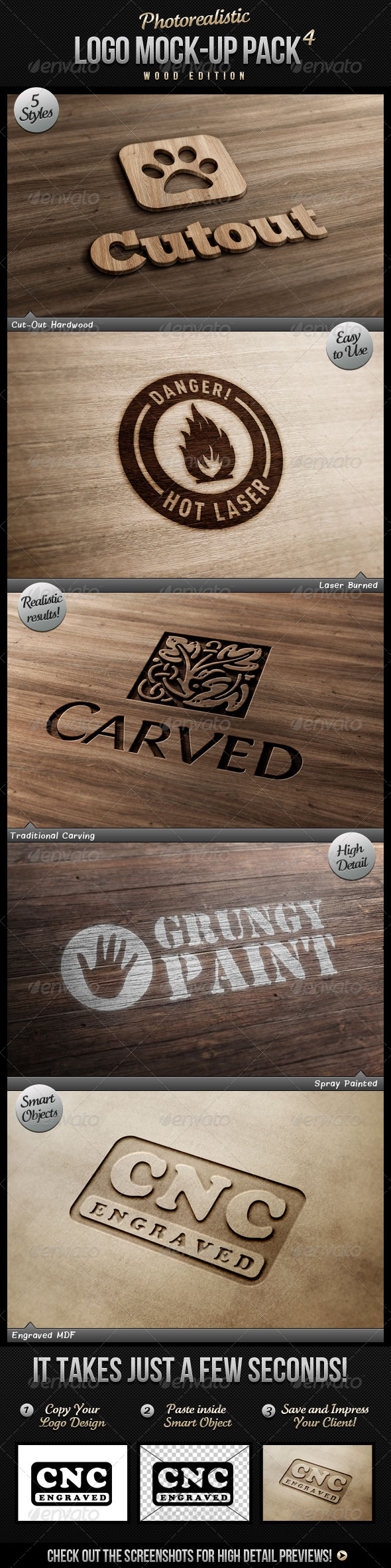 Wood Graphics, Designs & Templates from GraphicRiver