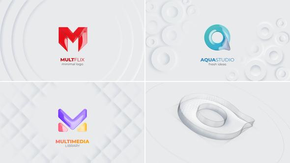 Clean & Sketch Logo Reveal