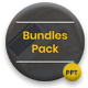 4 in 1 Bundles Pack Creative PowerPoint Template - GraphicRiver Item for Sale