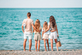 Happy family on the beach during summer vacation - PhotoDune Item for Sale