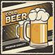 Retro Vintage Cold Beer Sign Poster - GraphicRiver Item for Sale