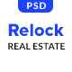 Relock - Creative Real Estate PSD Template - ThemeForest Item for Sale