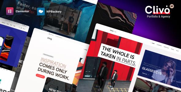Clivo - Portfolio & Agency WordPress