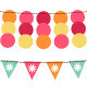 Bunting and garland vector set. - GraphicRiver Item for Sale