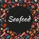 Seafood Seamless Background Pattern Banner Sea - GraphicRiver Item for Sale