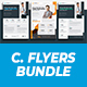 Corporate Flyer 3 in 1 Templates - GraphicRiver Item for Sale