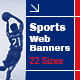 Sport Banners - GraphicRiver Item for Sale