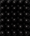 Dark Black Painted  Eggs. Flat Lay Abstract Pattern of Food. Top Down View. - PhotoDune Item for Sale