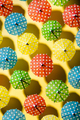 Rows of Colorful Tropical Beach Umbrella. Creative Minimal Art. Summer Holiday Concept Image - PhotoDune Item for Sale