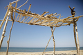 Wooden constructions on the beach - PhotoDune Item for Sale
