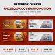 Furniture Sales Promotion Facebook Cover Design templates - GraphicRiver Item for Sale