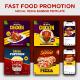 Food Promotion Instagram Social Media Banner Templates - GraphicRiver Item for Sale