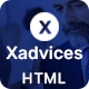 Xadvices - Finance and Consulting HTML Template - ThemeForest Item for Sale