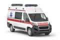 Ambulance car isolated on white. - PhotoDune Item for Sale