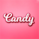 Candy Text Effect - GraphicRiver Item for Sale