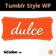 Dulce – A Tumblr Style WordPress Theme - ThemeForest Item for Sale