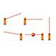 Realistic Detailed 3d Parking Barrier Gate Set. Vector - GraphicRiver Item for Sale