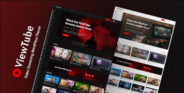 ViewTube   Video Streaming WordPress Theme