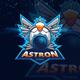 Astronaut Esport Logo - GraphicRiver Item for Sale