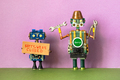 Fixing maintenance robotics electronic diagnostics concept. - PhotoDune Item for Sale
