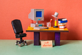 Job wanted. The concept of searching for office vacancies - PhotoDune Item for Sale