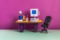 Retro office interior workplace. - PhotoDune Item for Sale