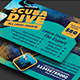 Scuba Diving Business Card - GraphicRiver Item for Sale
