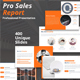 Pro Sales Report Powerpoint Presentation Template - GraphicRiver Item for Sale
