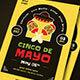 Cinco De Mayo Event Flyer + Social Media - GraphicRiver Item for Sale