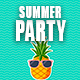 Happy Summer Party Logo