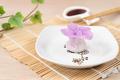 Chinese purple color flower dumpling or dim sum - PhotoDune Item for Sale
