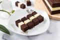 Homemade three layer steam chocolate cheese cake - PhotoDune Item for Sale