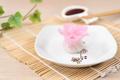 Chinese pink color flower dumpling or dim sum - PhotoDune Item for Sale