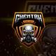 Skull Head Esport Logo Gaming - GraphicRiver Item for Sale