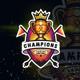 Champions Esport Logo Tournament - GraphicRiver Item for Sale