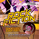 Rock Fiction Flyer - GraphicRiver Item for Sale