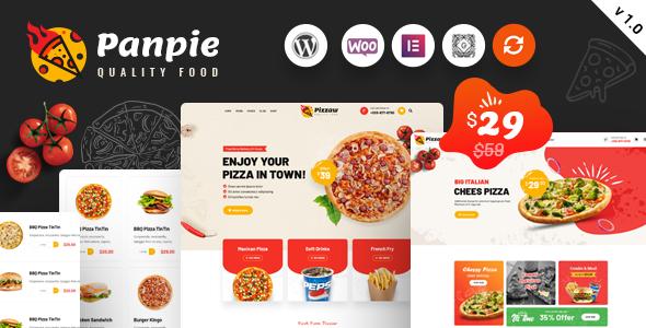 Panpie – Restaurant WordPress Theme, Gobase64