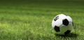 Football soccer ball on grass field - PhotoDune Item for Sale