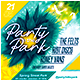 Outdoor Party Flyer - GraphicRiver Item for Sale
