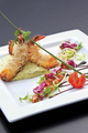 Asian dish on a white plate - PhotoDune Item for Sale