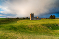 Dramatic skies over the old church at Knowlton - PhotoDune Item for Sale
