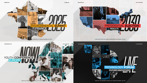 MAP Collage Logo Intro