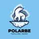 Polar Bears Logo Template - GraphicRiver Item for Sale