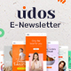 Udos - Multipurpose E-Newsletter Email Templates - GraphicRiver Item for Sale