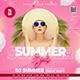 Summer Flyer Banner - GraphicRiver Item for Sale