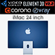 iMac 24-inch 2021 - 3DOcean Item for Sale