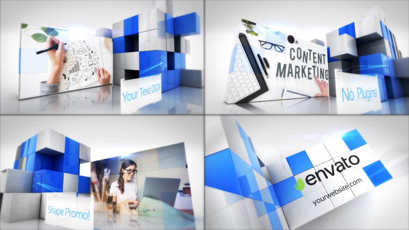Corporate Cubes Slideshow