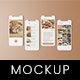 Phone Screen / UX / App Screen Mockup - GraphicRiver Item for Sale
