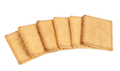 Biscuits on white background - PhotoDune Item for Sale